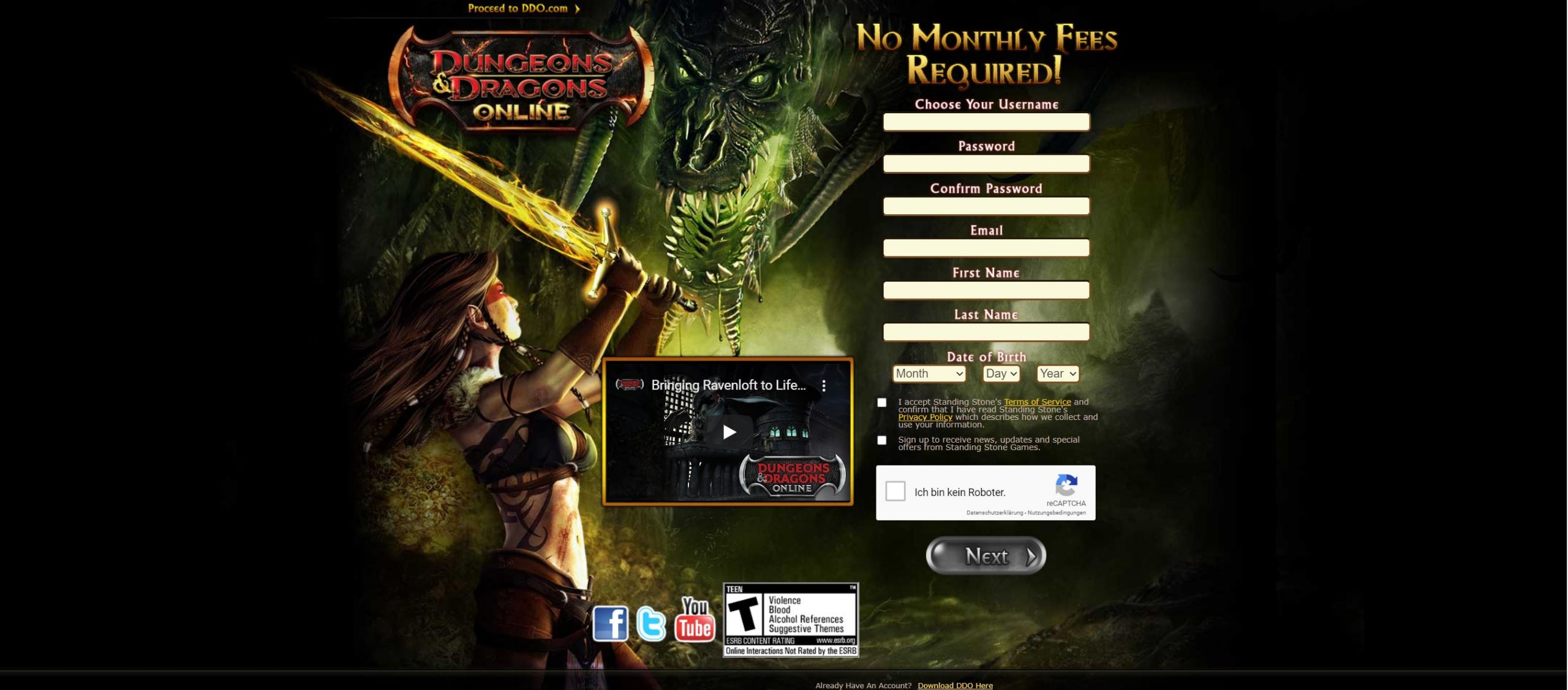 Dungeons And Dragons Online Spielen