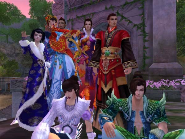 Jade Dynasty, kostenloses Manga Rollenspiel