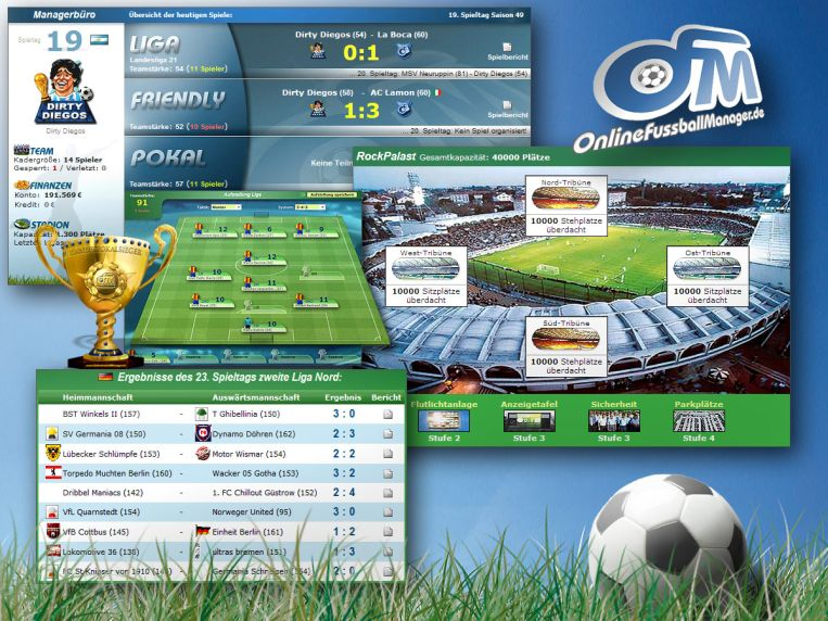 Browsergames Fussball Manager