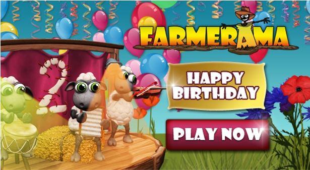 Farmerama Birthday