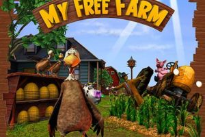 My Free Farm - Was für ein cooles Superhuhn my free farm