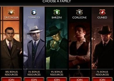 The Godfather Five Families3