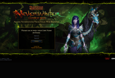 neverwinter gateaway