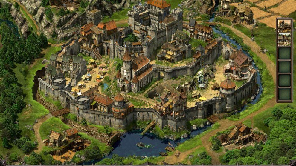 stämme village view