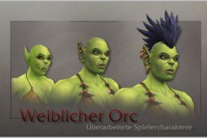 World of Warcraft weibliche Orcs