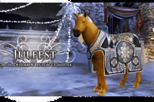 Herr der Ringe Online - Holt euch das neue Winter-Festival-Reittier hdro julfest