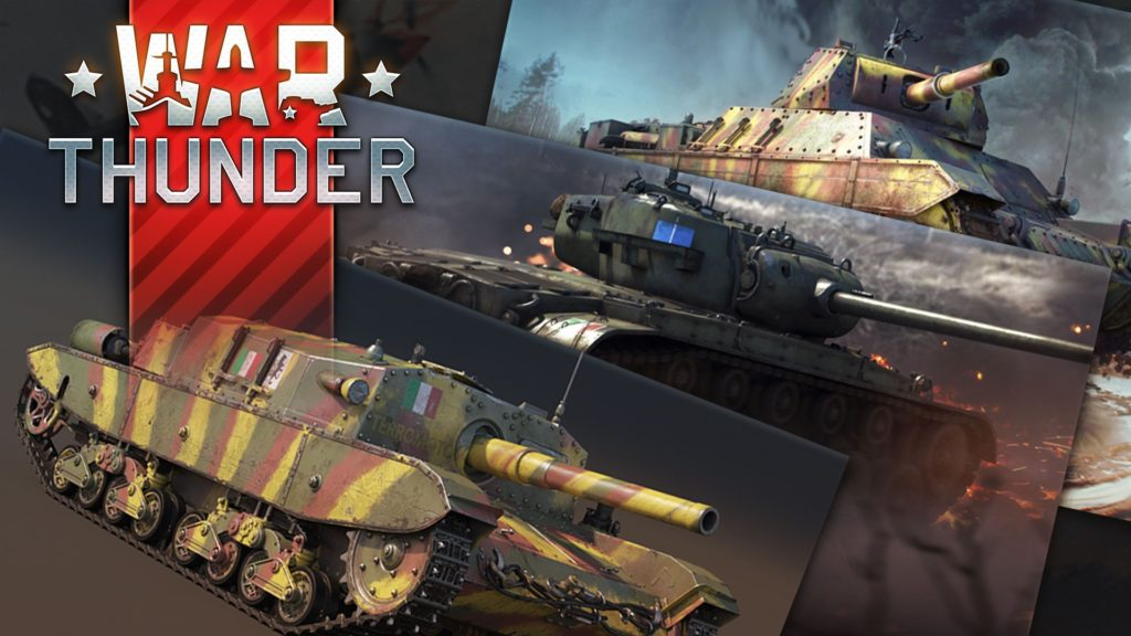 War Thunder Italian Ground Forces