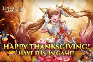 League of Angels III Thanksgiving