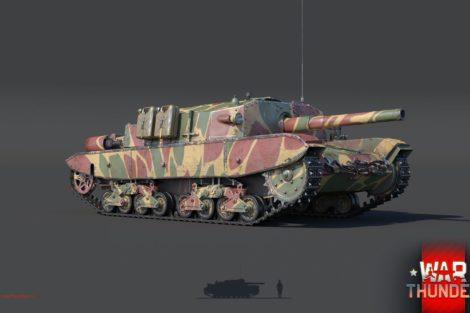 WarThunder Semovente m43 105 render new