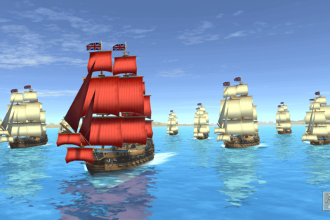 03 Admirals Caribbean Empires OpenBeta 02 19 Fleet Screenshot