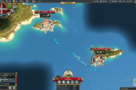 06 Admirals Caribbean Empires OpenBeta 02 19 TradeRoutes Screenshot