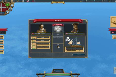 09 Admirals Caribbean Empires OpenBeta 02 19 SeabattleResult Screenshot