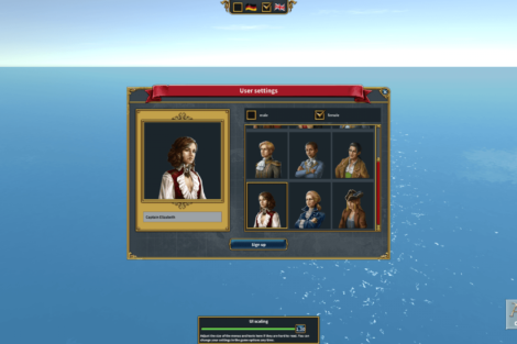 19 Admirals Caribbean Empires OpenBeta 02 19 AvatarSelection Screenshot