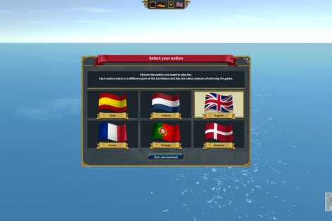 20 Admirals Caribbean Empires OpenBeta 02 19 NationSelection Screenshot
