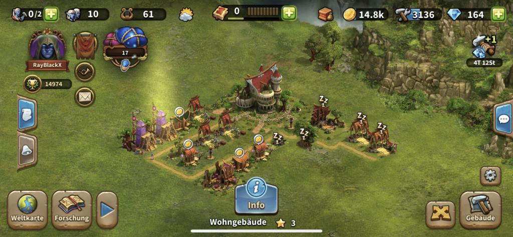 Elvenar iOS Screenshot