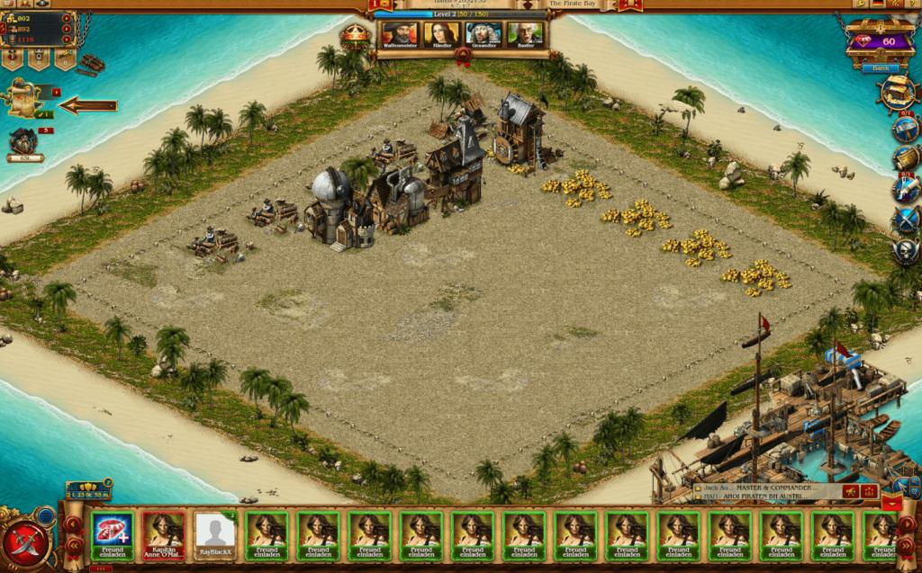 Pirates: Tides of Fortune Screenshot 1