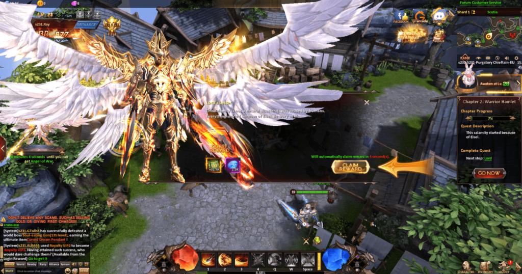 League of Angels Heavens Fury Screenshot 2