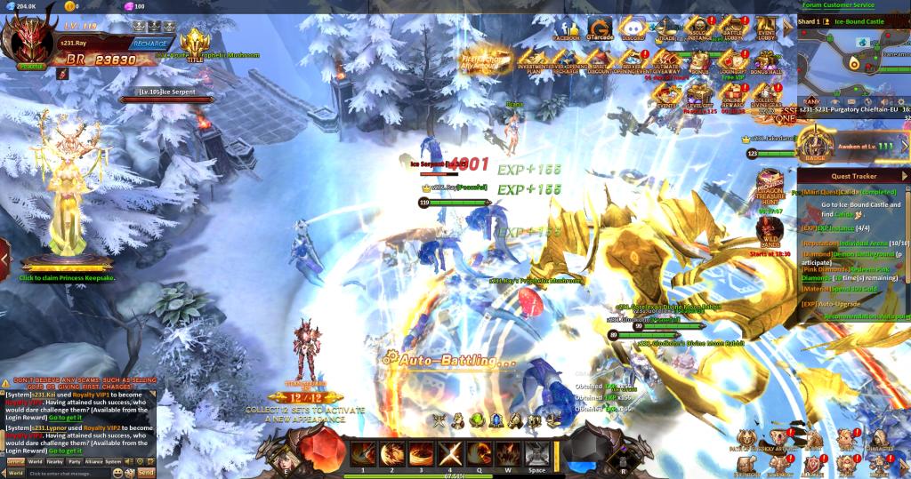 League of Angels Heavens Fury Screenshot 3
