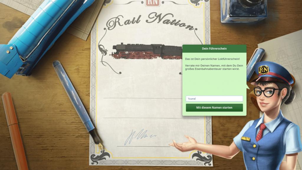 Rail Nation Screenshot 1