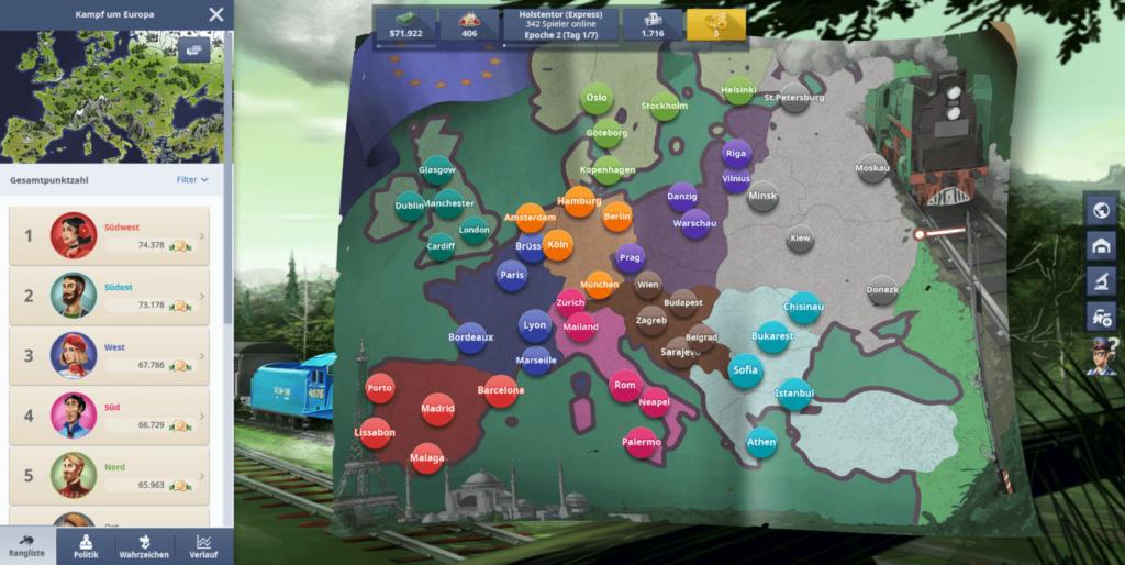 Rail Nation Screenshot 10