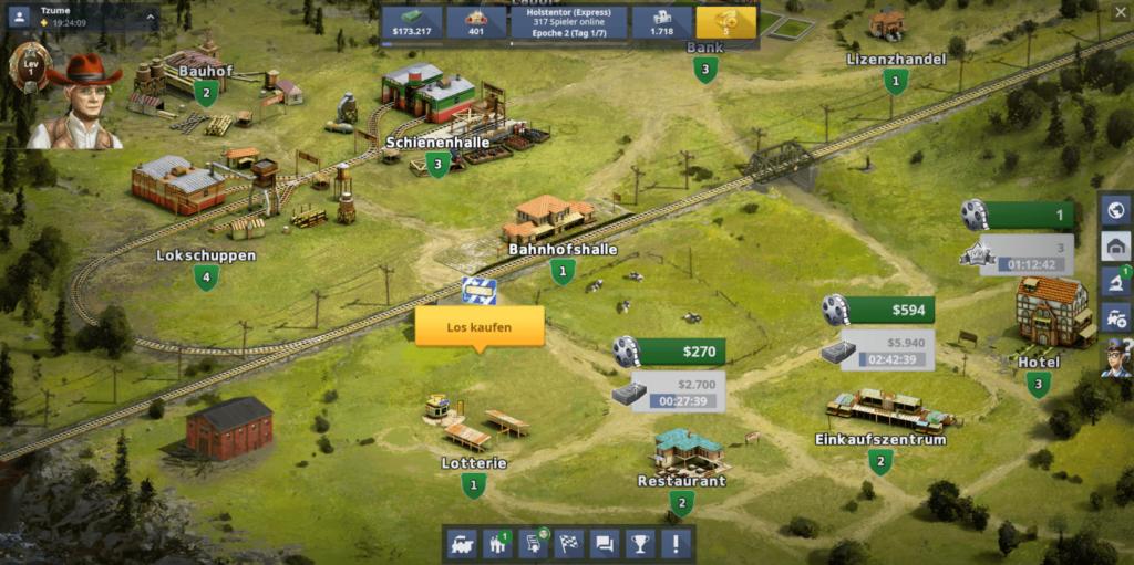 Rail Nation Screenshot 5