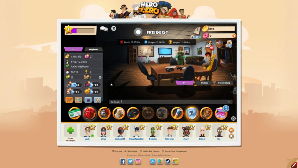 Hero Zero Screenshot 10