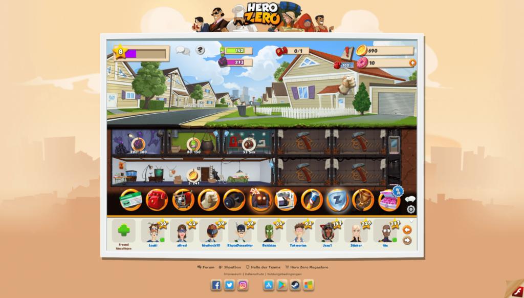 Hero Zero Screenshot 11