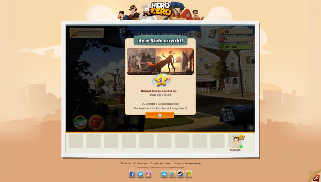 Hero Zero Screenshot 2