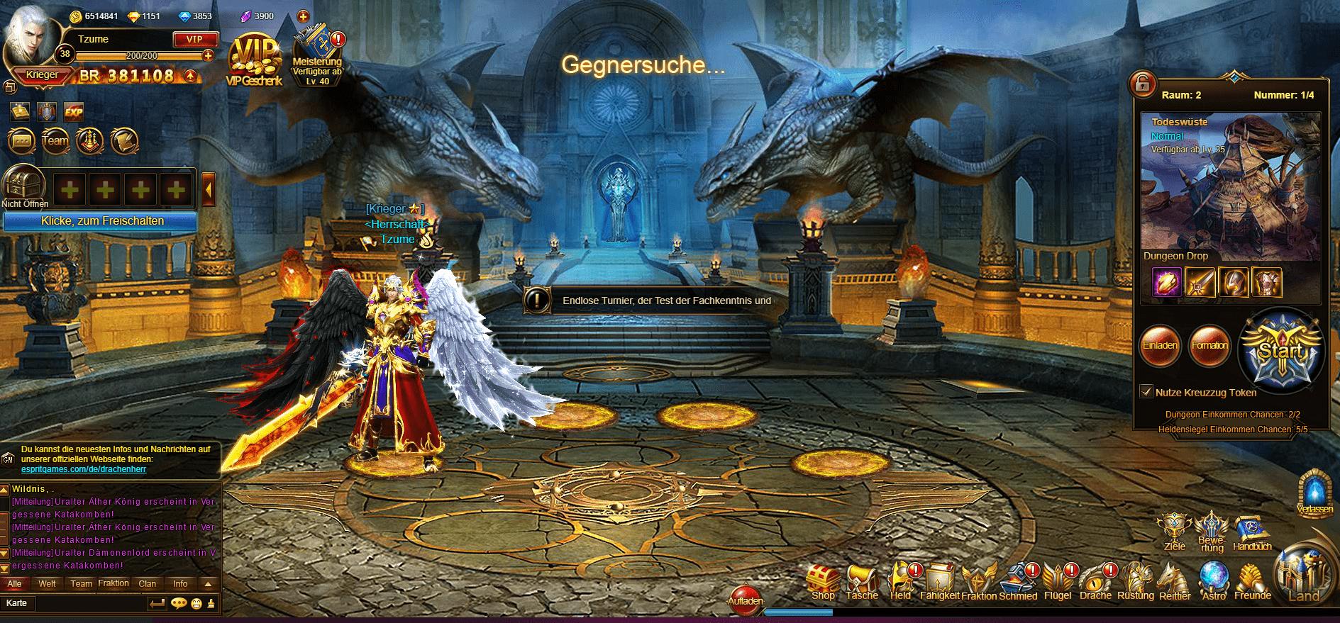 Herr der Drachen Screenshot 2