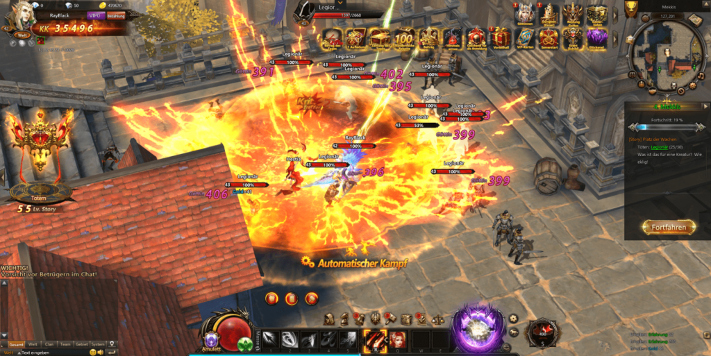 Rise of Angels Screenshot 2