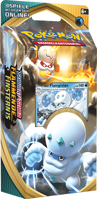 Pokemon Trading Card Game Online Flammende Finsternis Booster Themendeck Galarian Flampivian