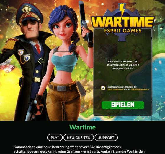 Wartime Beitragsbild