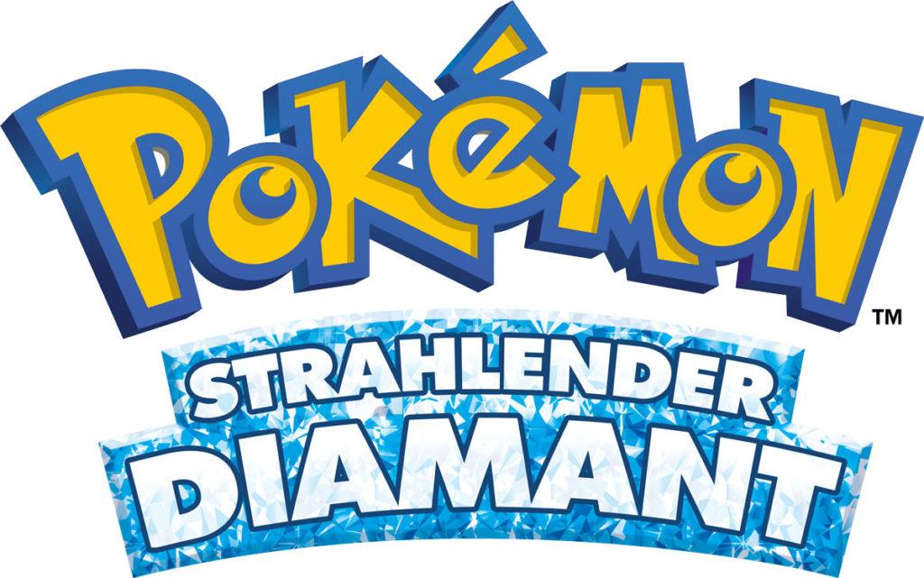 pokemon strahlender diamant logo de