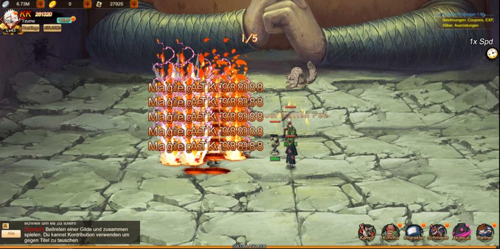 Ninja Erben der Macht 1